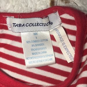 Tara Collection Dresses - Adorable red and white dress | size 8 🌻